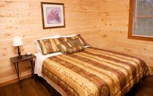 Queen beds in all cabins!