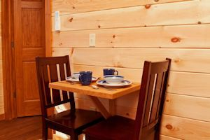 Log Cabin Table
