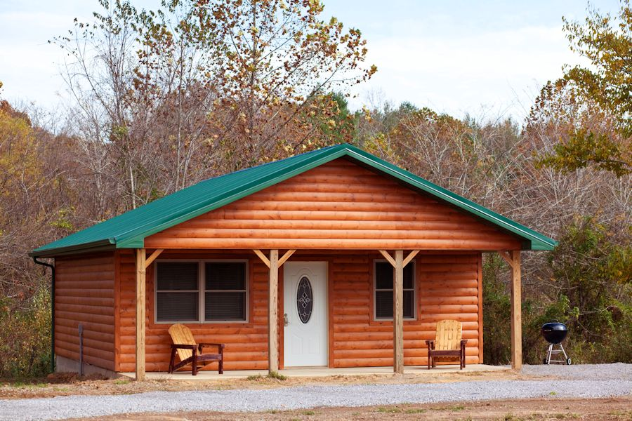Two bedroom log cabins in the shawnee national forest for Two bedroom cabins