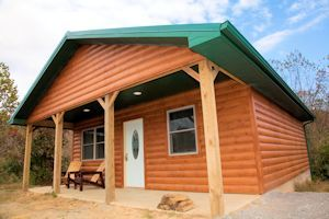Two Bedroom Log Cabin - Southern Illinois Cabin
