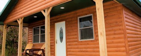 Shawnee Forest Cabins. 2 Bedroom Log Cabins