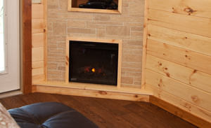 Shawnee Forest Cabins are romantic getaways in southern illinois with fireplaces