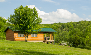 Private cabins are perfect romantic getaways in southern illinois and the Shawnee National Forest